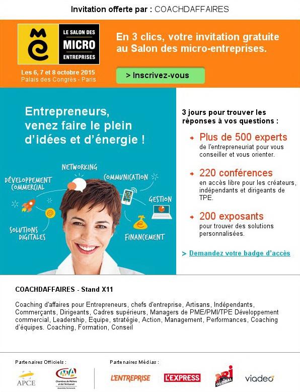 Pascale joly entrepreneurs venez faire le plein d id es for Micro entreprise idee